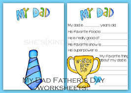 time for a quiz father u0027s day free printables shes kinda crafty