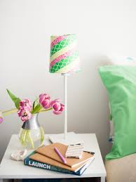 Washi Tape Home Decor Brighten Up With These Diy Home Lighting Ideas Hgtv U0027s Decorating