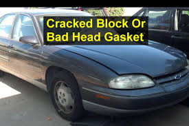 how to check for a blown head gasket or cracked block auto