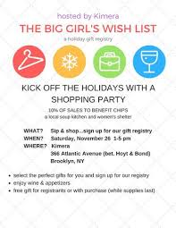 charity gift registry shop for a cause charity and trunk show updates shopkimera