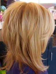 side and back views of shag hairstyle 14 trendy medium layered hairstyles medium layered hairstyles