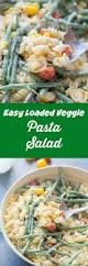 easy pasta salad loaded vegetable pasta salad and cincy dipping sauces