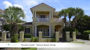 miramar beach florida 3br vacation rental home paradise caribe