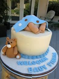baby shower boy cakes baby shower cake ideas for dads ideas of baby shower decorated