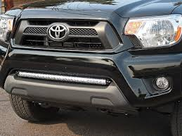 2017 tacoma light bar 2005 2015 toyota tacoma bumper mount kit black rigid industries