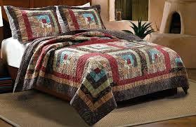 Rustic Comforter Sets Duvet Covers Bear Country Comforter Sets Log Cabin Duvet Covers