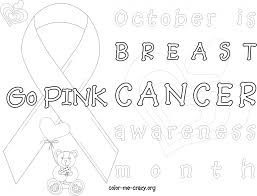 breast cancer ribbon coloring pages to invigorate in coloring