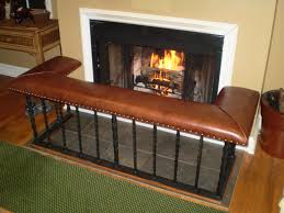 custom fireplace screens and club fender benches by old english