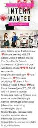 Summer Entertainment Internships - entertainment fashion media intern wanted creative innovative attn