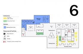 Flor Plans Leon And Toby Cooperman Floor Plans Hunter College Libraries