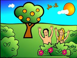 free stock photo of happy adam and eve in garden of eden public