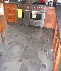 slate flooring kitchen historic gray brushed slate floor tiles