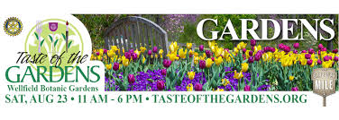 event details and tickets taste of the gardens