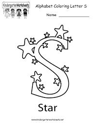 letter s worksheet worksheets