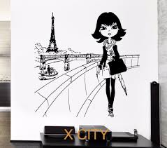 paris decals wall art igtos wall decal awesome paris decals art ideas amazon