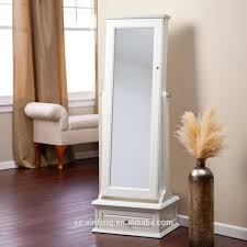 White Decorative Vase Furniture Fabulous White Standing Jewelry Armoire With Cheval