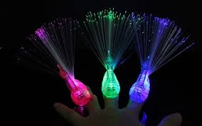 led light up rings peacock finger light colorful led light up rings party gadgets kids