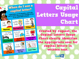 capital letters usage chart printable teacher resources for