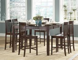 Bar Height Dining Room Sets Counter Height Dining Room Table Sets
