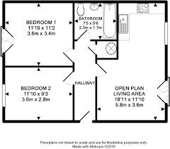 1300 sq ft apartment floor plan 2 bedroom flat for sale in midland mews 24 waterloo road bristol