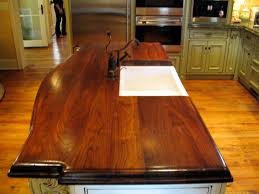 countertops brun millworks walnut wood bar top 1 75 thick beaded edge detail permanent finish walnut kitchen countertop