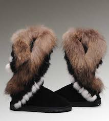 womens ugg boots for sale s ugg boots on sale fox fur 8688 black 07310a ugg