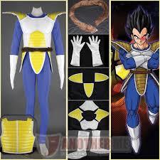 Dragon Ball Halloween Costumes Dragon Ball Vegeta Ii Man Cosplay Costume Custom Size