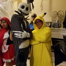 Pikachu Halloween Costume Men Fun Night Man Halloween Costumes Point Haha