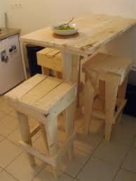 table de cuisine en palette comment faire un bar de cuisine 10 ma du bois meubles