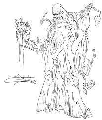 swamp monster dark stalkers by daveigo on deviantart