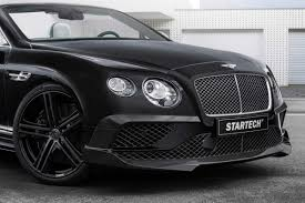 bentley black convertible the startech bentley continental convertible stuns frankfurt