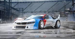 bmw race series rendering shows a bmw i8 procar racing car