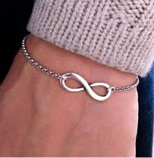 fashion infinity bracelet images 2016 simple fashion silver gold chain bracelets infinity bracelet jpg