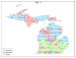 rural development map michigan michigan map