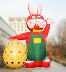 easter decorations for sale buy easter bunny inflatables and get free shipping on