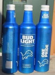 where to buy bud light nfl cans 2017 2017 bud light nfl kickoff detroit lions 3 aluminum bottle beer cans