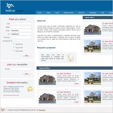 real estate template free website templates in css html js