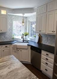 corner kitchen sink ideas kitchen designs with corner sinks a better corner kitchen sink