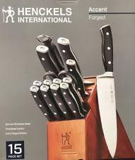 kitchen knives henckels henckels knife set kitchen steak knives ebay