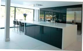 Kitchen Design Course by Amusing Modular Kitchen Design Ideas With Curved Shape Black White