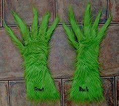 grinch costume how to make grinch gloves i bought a pair of lime green cheap