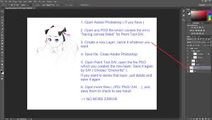 canva not saving paint tool sai fix saving canvas failed by bigcolors on deviantart