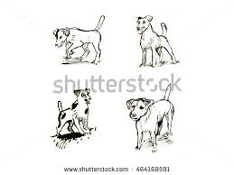 dog drawing stock images royalty free images u0026 vectors shutterstock