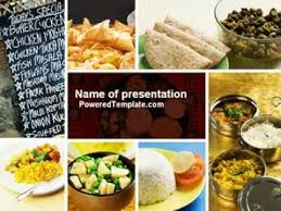 indian food powerpoint template by poweredtemplate com youtube