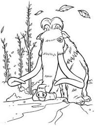 ice age coloring pages wecoloringpage pinterest ice age