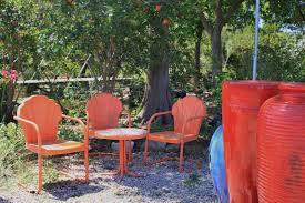 Motel Chairs Rock Oak Deer Nursery Visit Hill Country Gardens