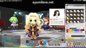 maplestory hair style locations 2015 ayumilove maplestory2 female hairstyle 44 styles x 20 colors