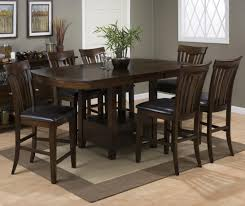 high dining room table sets top 78 cool counter height kitchen sets black dining set room table