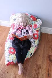 super simple diy kids bean bag chair a step by step tutorial