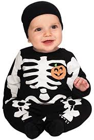 Skeleton Costume Amazon Com Rubie U0027s Costume My First Halloween Black Skeleton